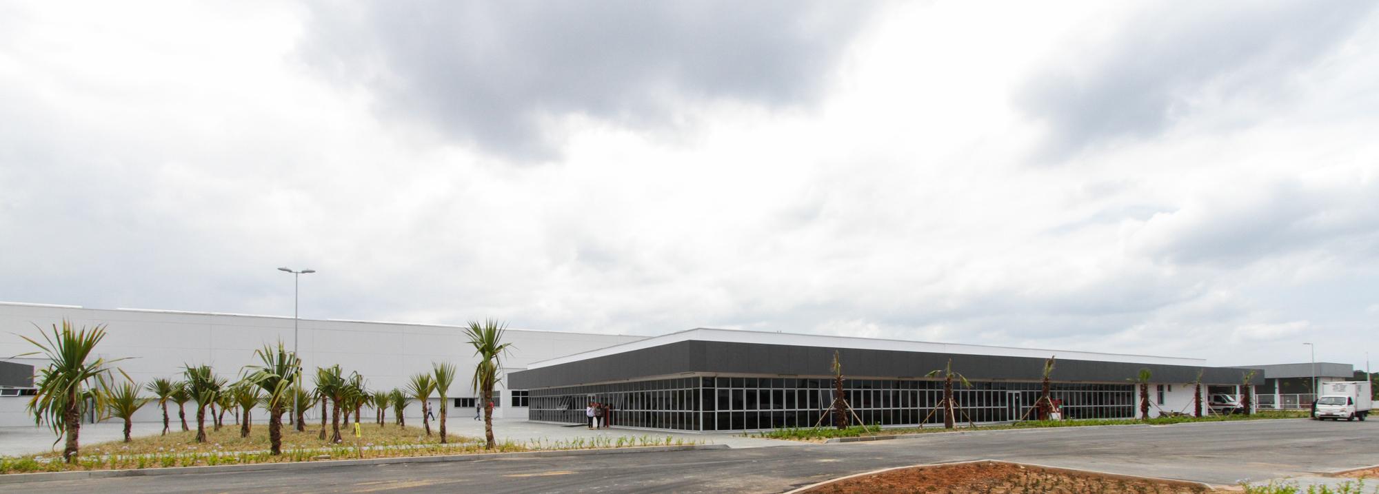 Fábrica da BMW em Araquari (SC)