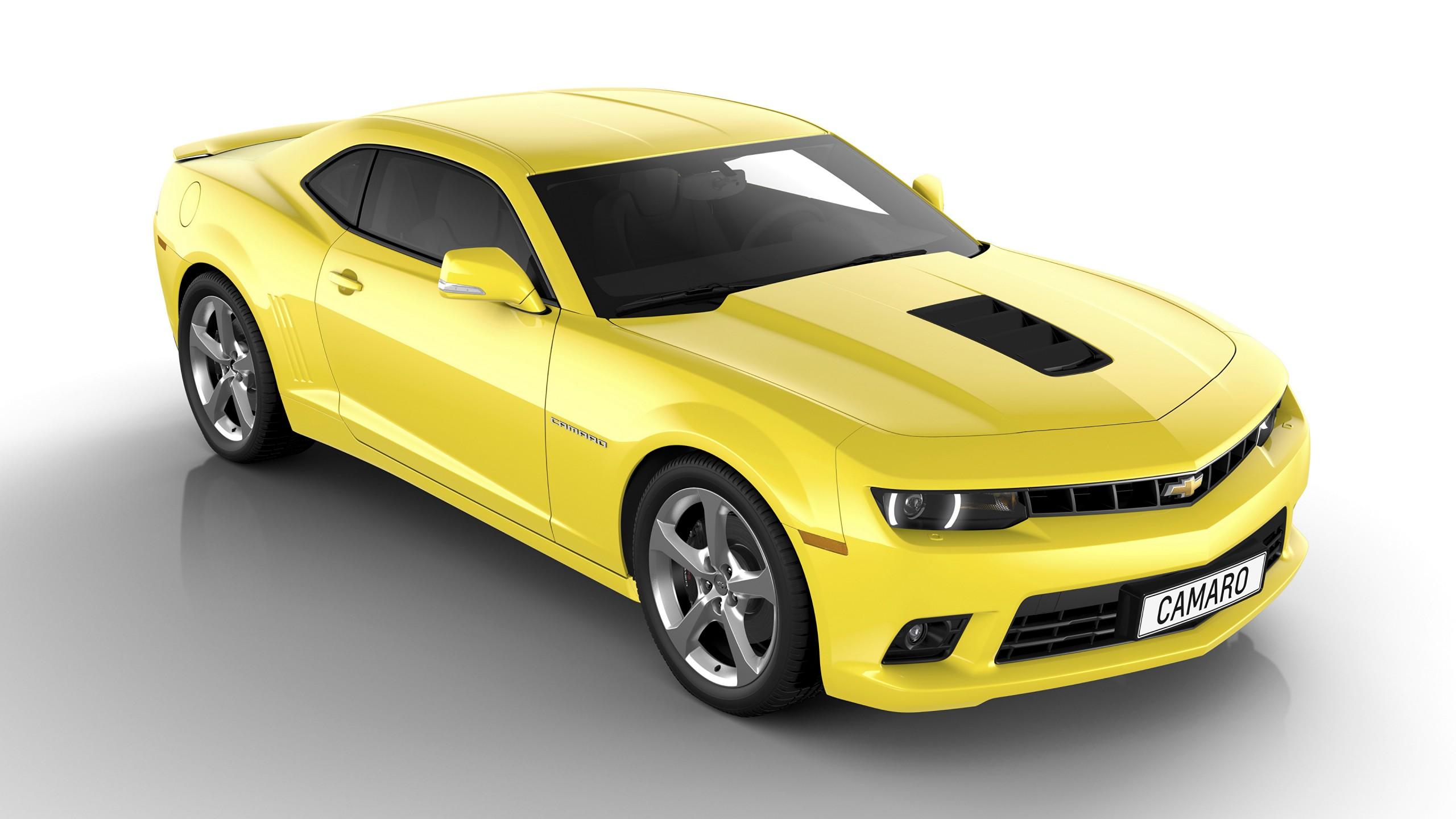 Chevrolet Camaro amarelo
