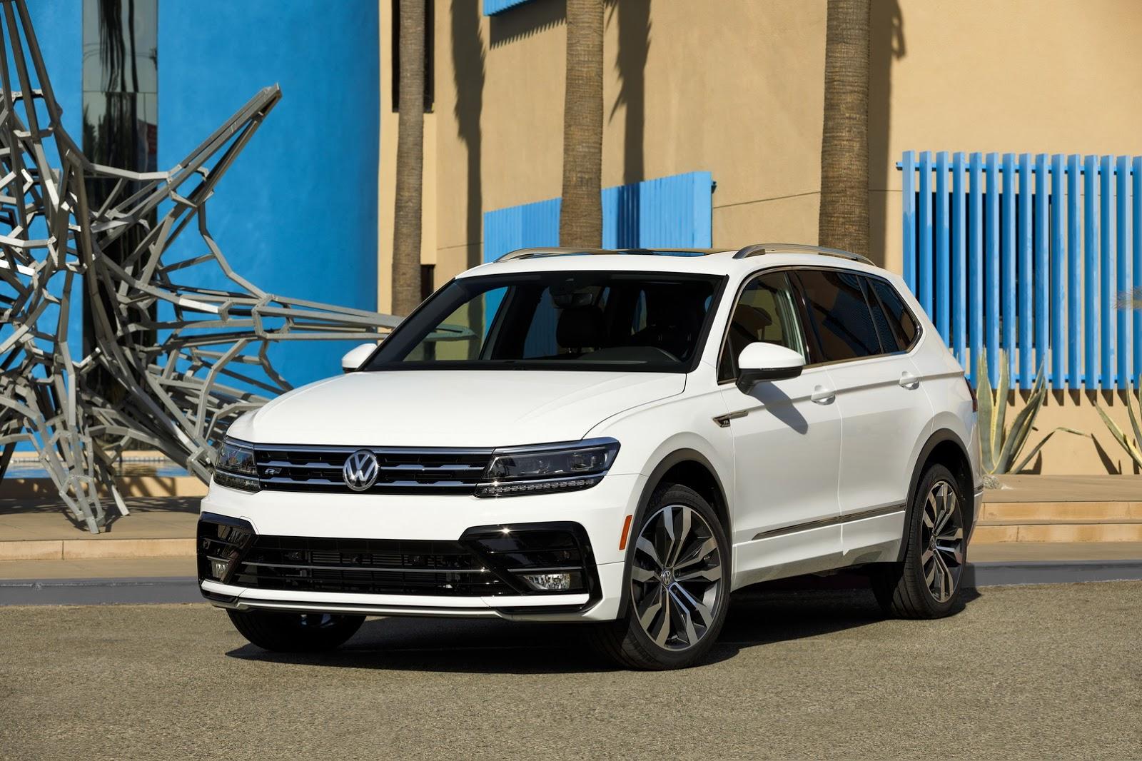 Volkswagen tiguan r-line salão de los angeles