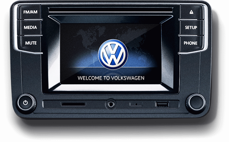 Volkswagen Composition Touch central multimídia