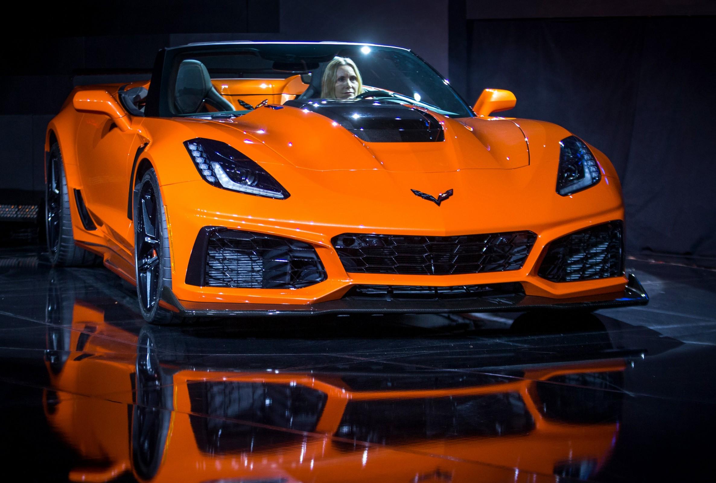 chevrolet corvette zr1 conversível salão de los angeles 2017