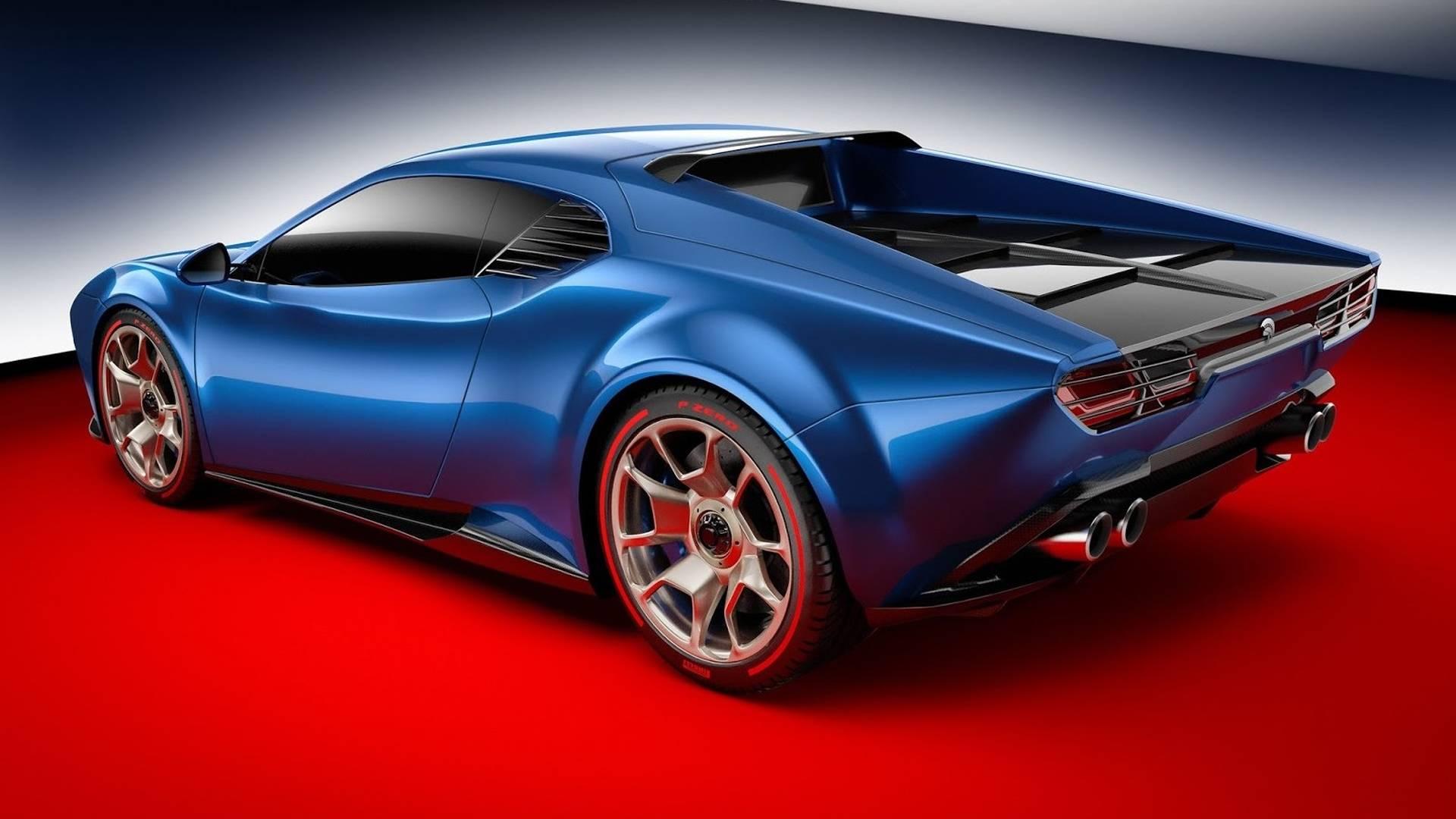 Ares Design De Tomaso Pantera