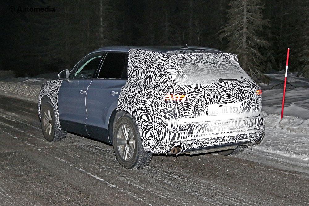 Flagra novo Volkswagen Touareg