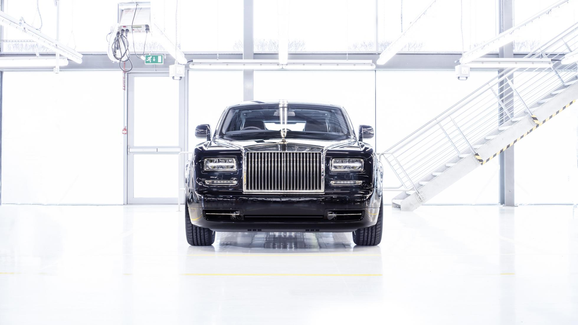 Rolls-Royce Phantom Last Unit