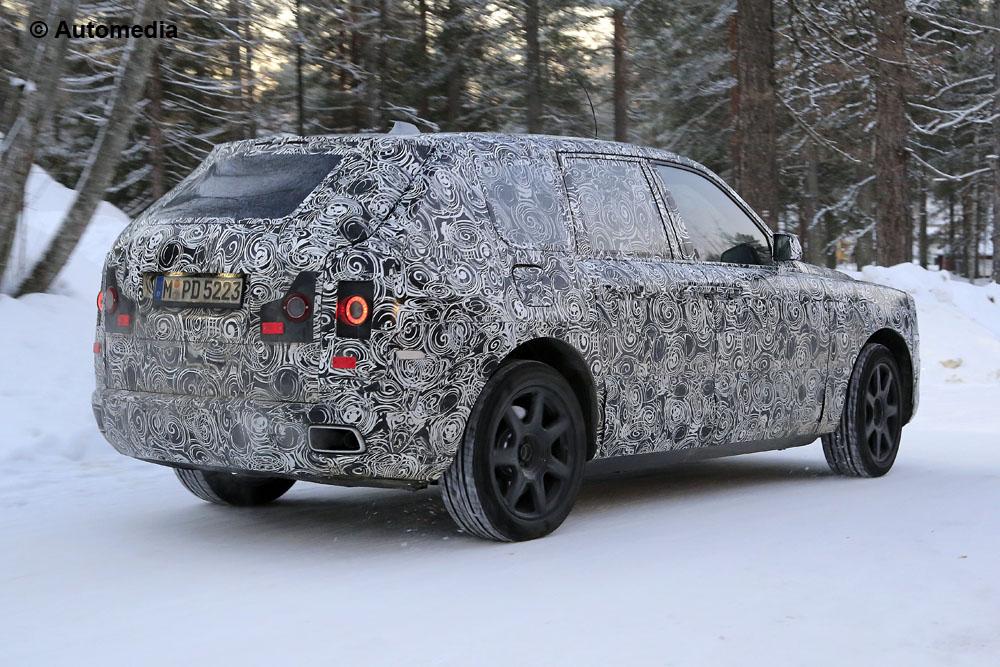 Segredo Rolls-Royce Cullinan
