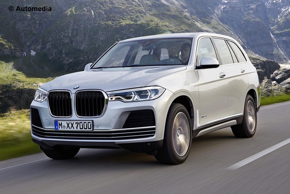Projeção BMW X7