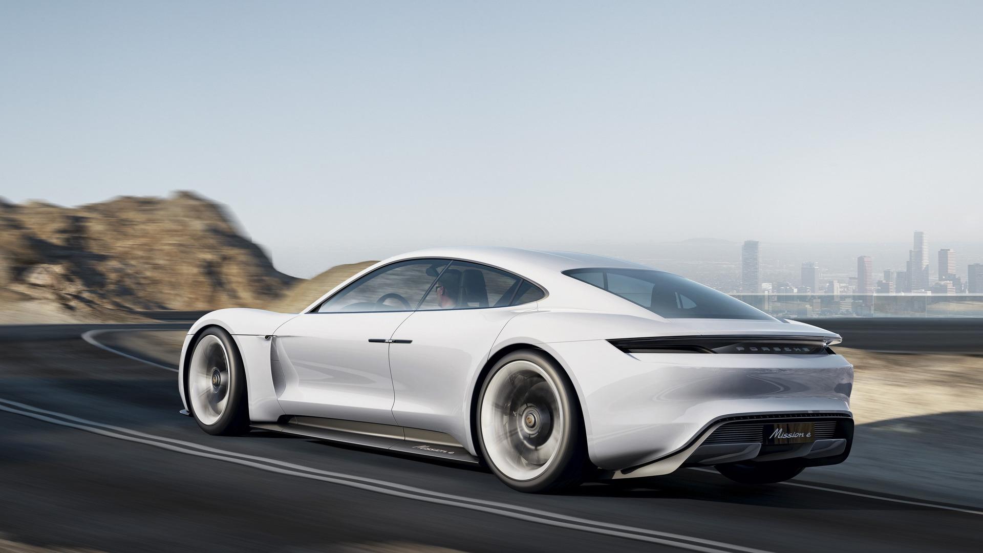 Porsche Mission-E Concept