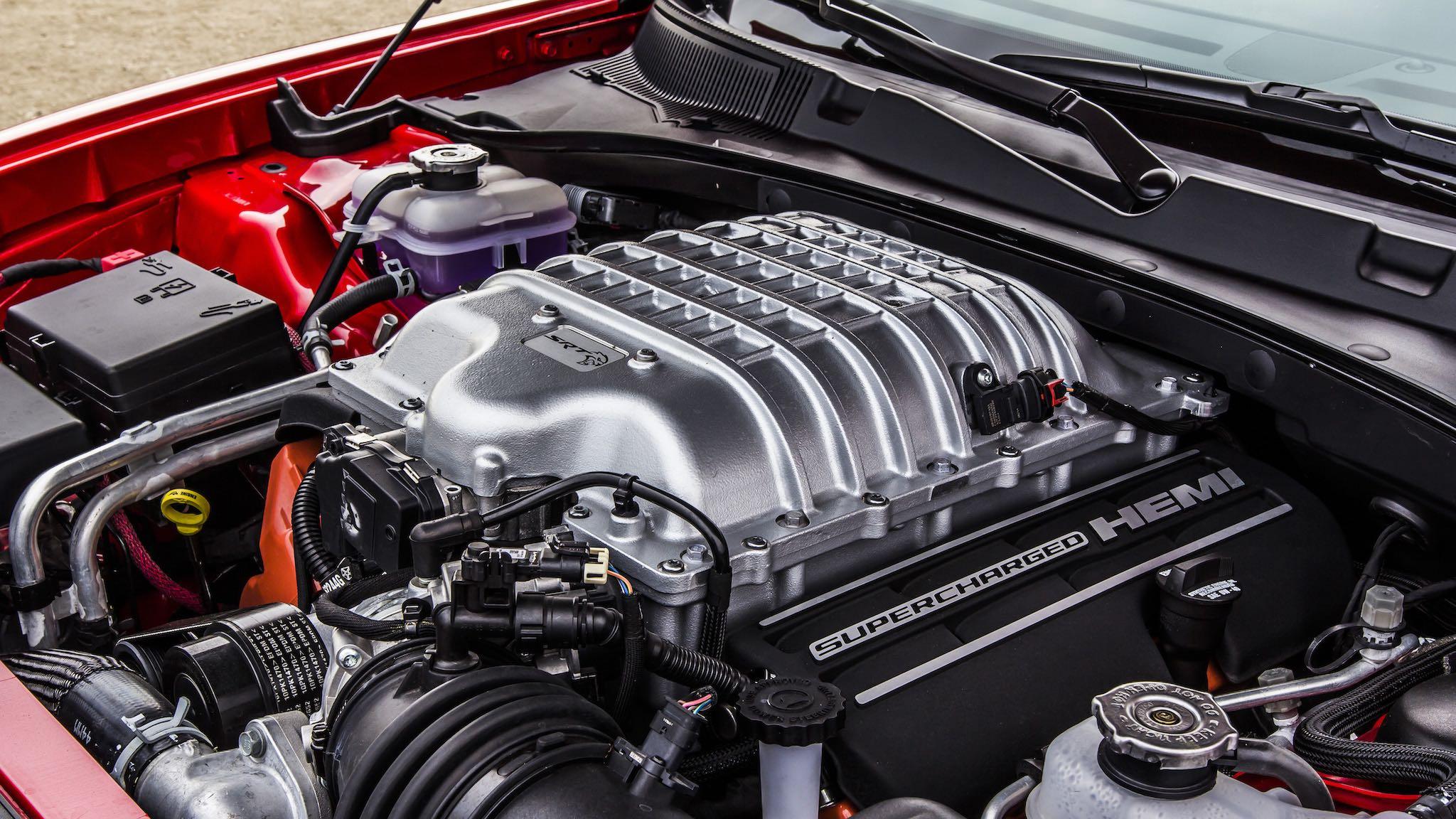 Motor V8 6.2  Hemi Supercharger