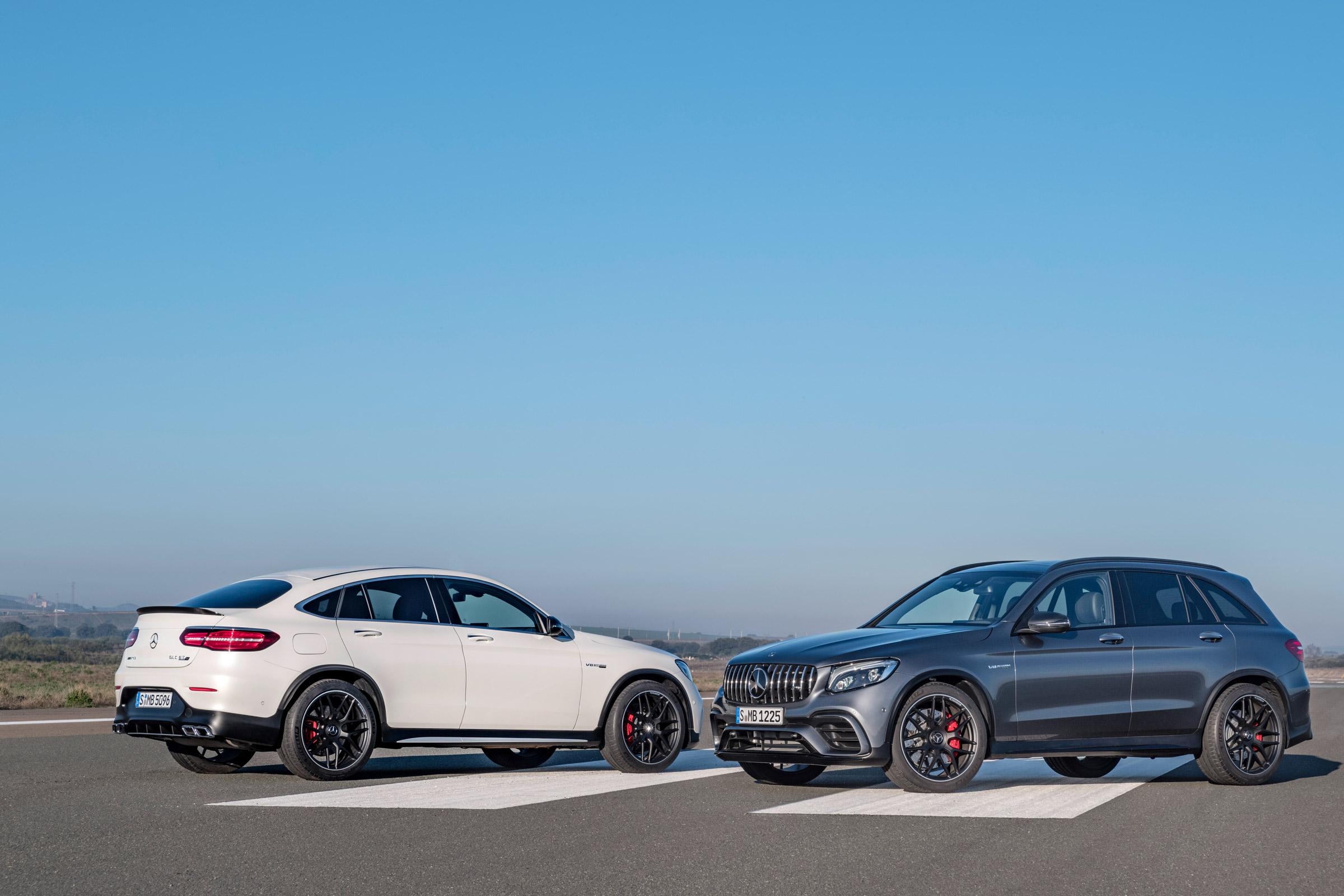 Mercedes-AMG GLC 63 e Coupé