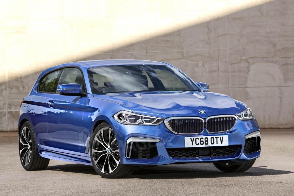 Projeção do BMW Série 1