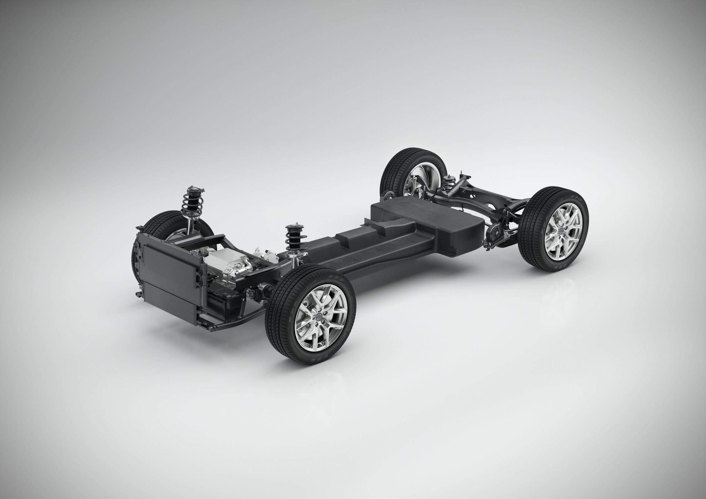 Plataforma modular para elétricos Volvo