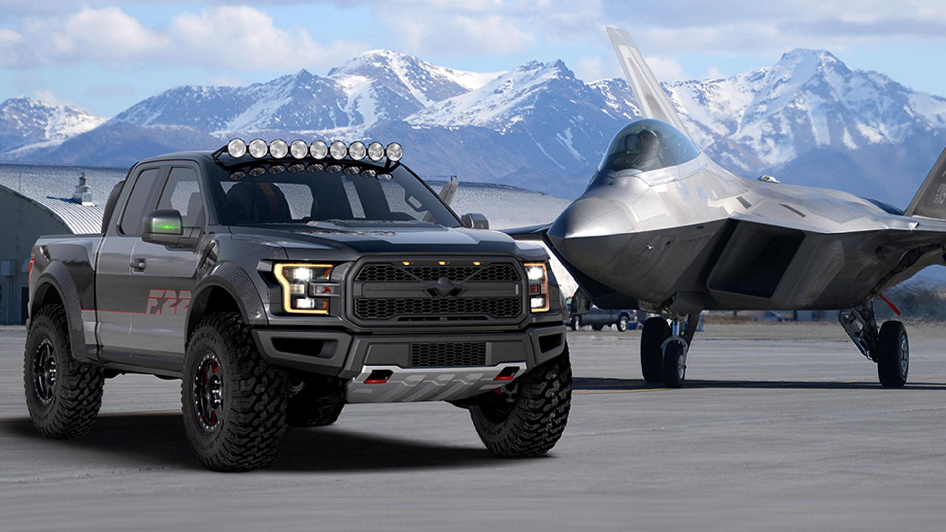 Ford F-150 Raptor F.22