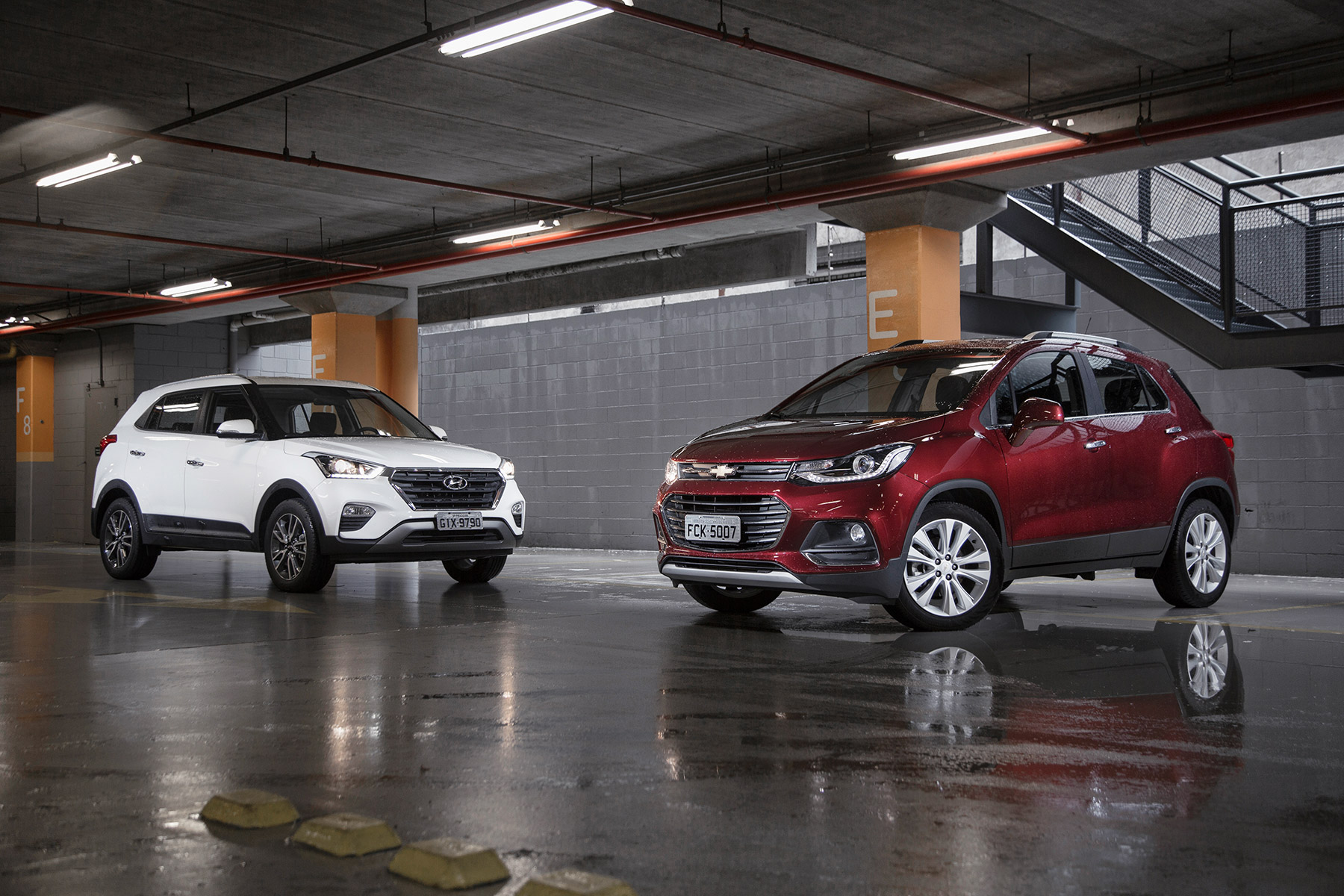 Hyundai Creta x Chevrolet Tracker