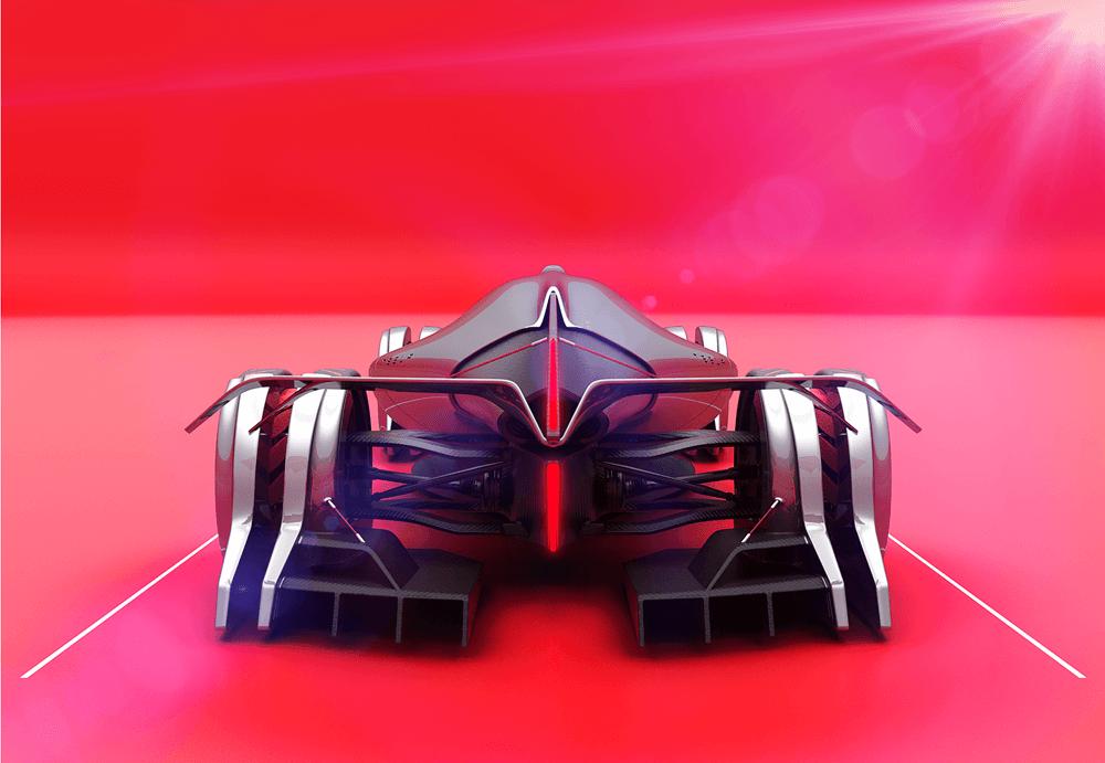 Tesla T1 Concept 24 Hous Le Mans