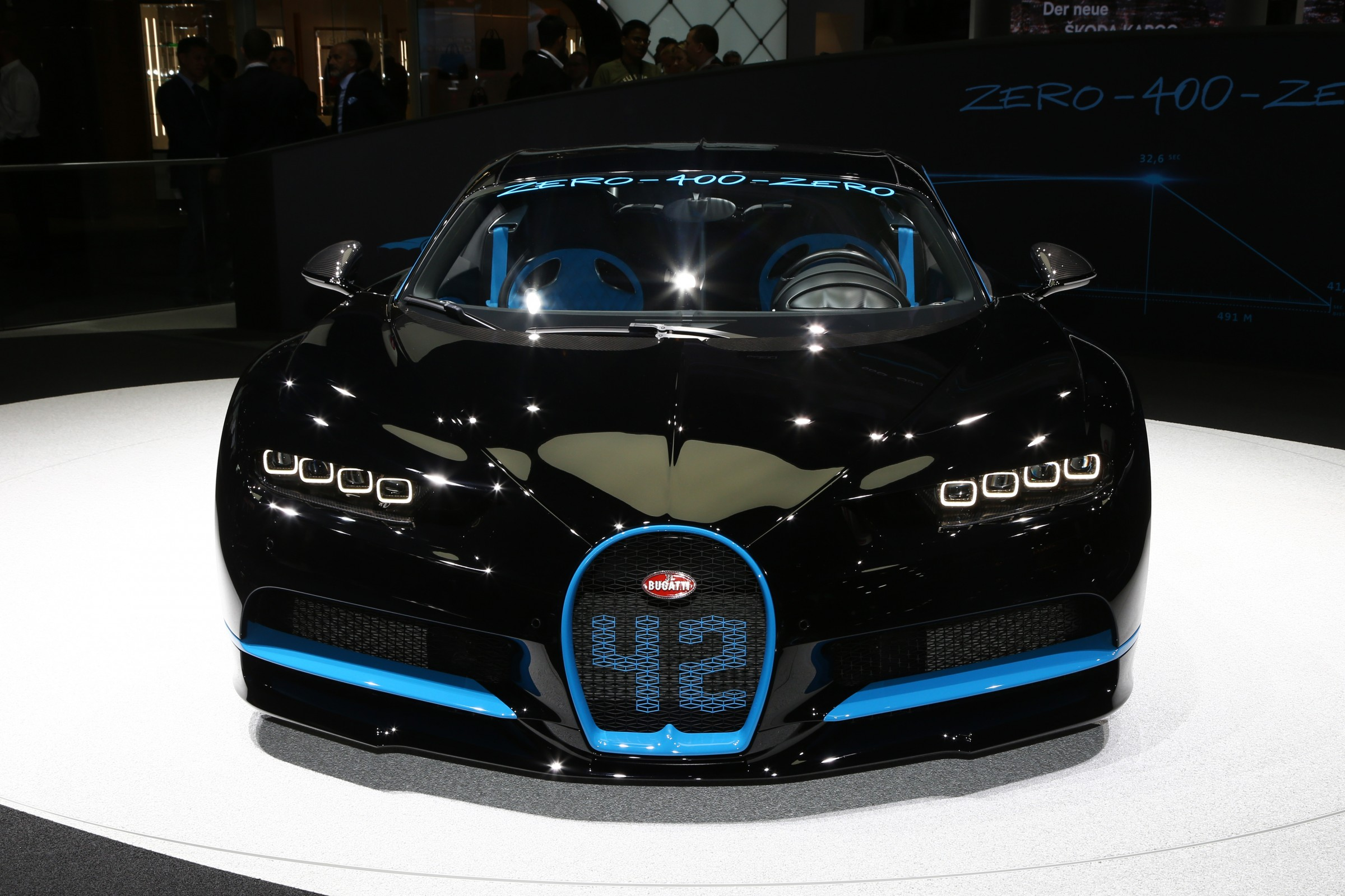 Bugatti Chiron 42 Seconds Edition Frankfurt 2017