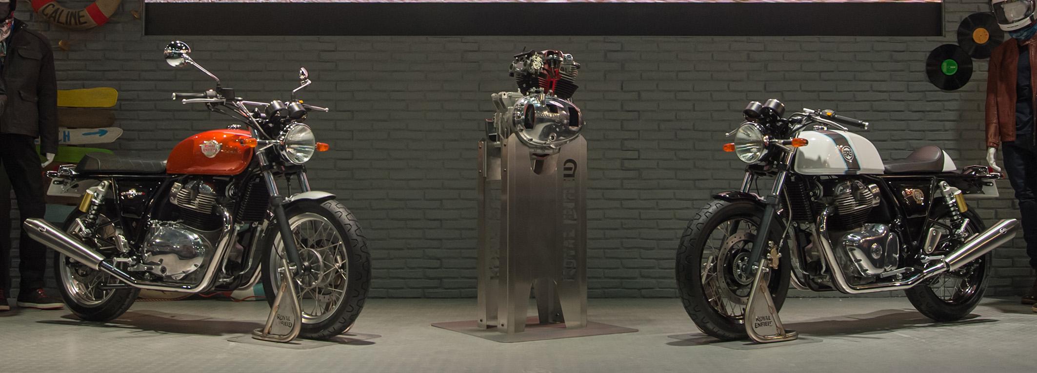 Novas motos Royal Enfield