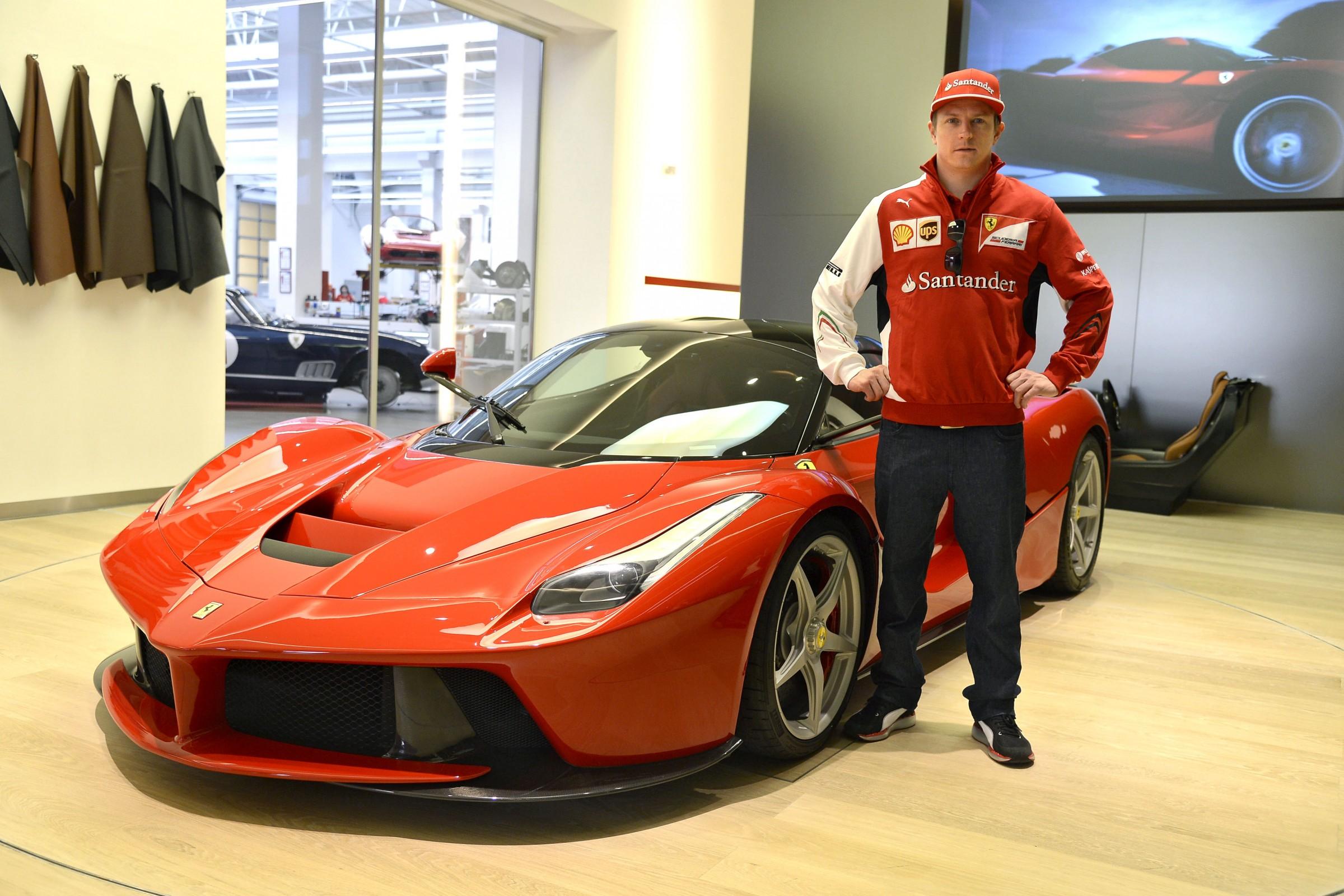 Carros de Kimi Raikkonen