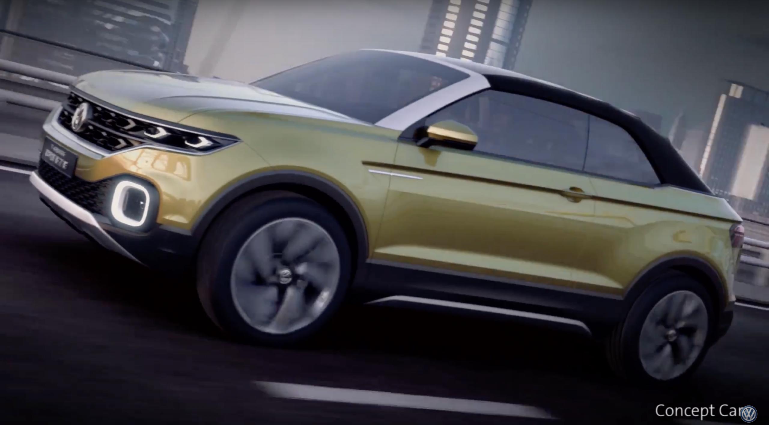 Volkswagen T-Cross Breeze vídeo lançamentos 2018