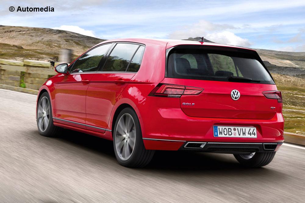 Projeção do Volkswagen Golf 8