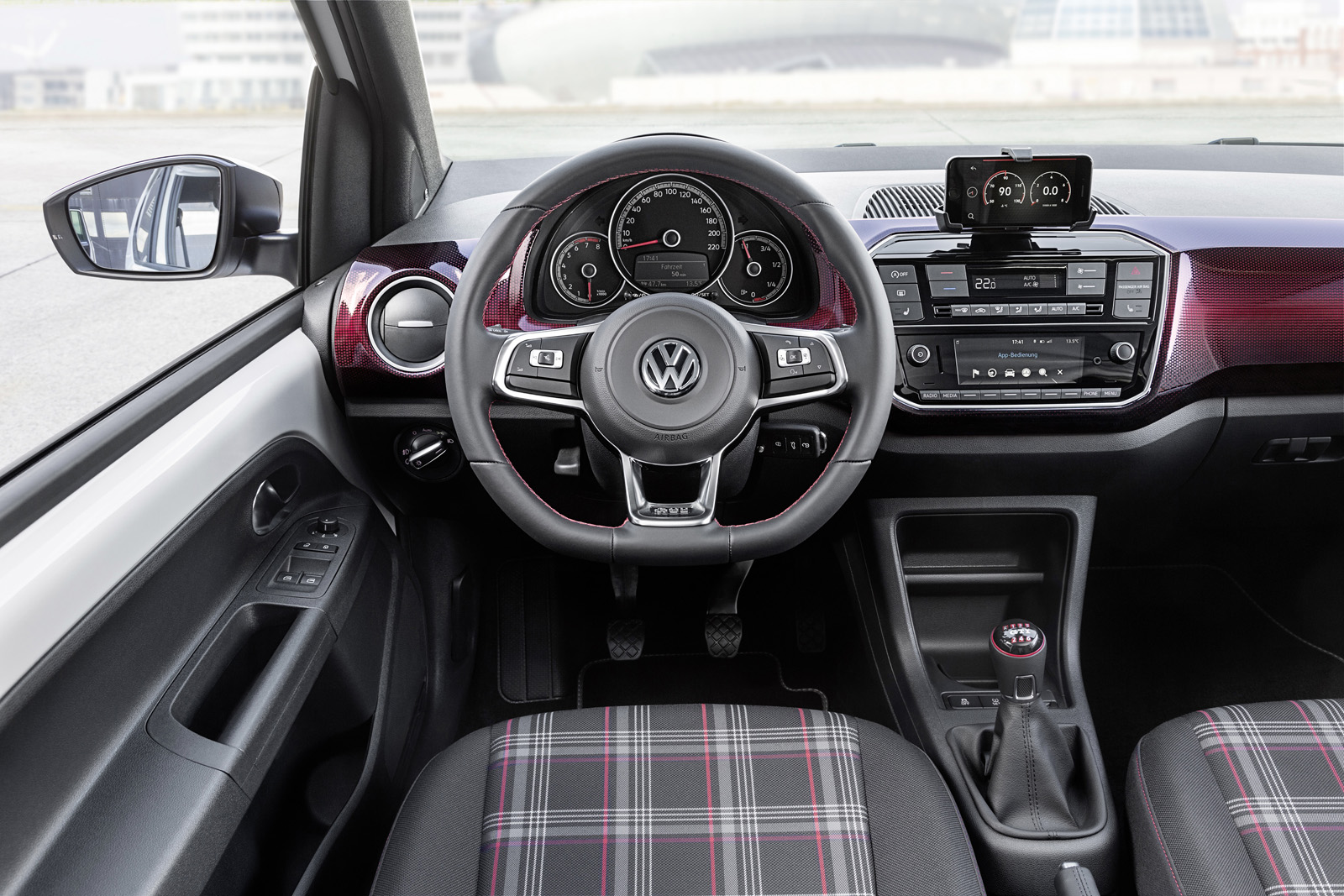 vw up gti interior