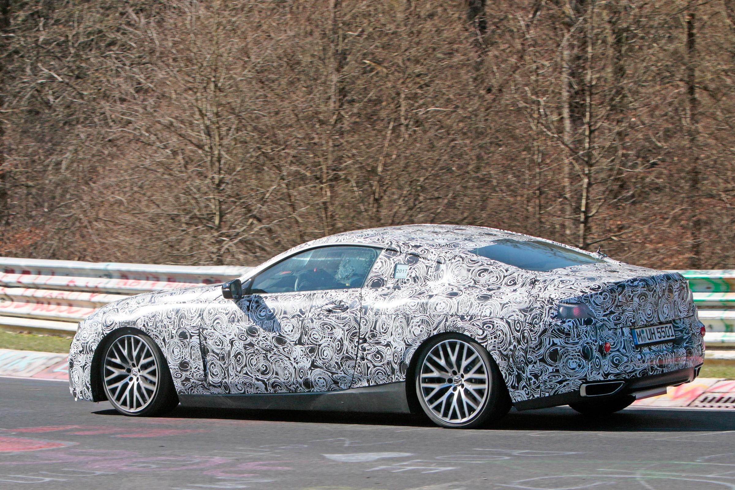 BMW M8 em testes