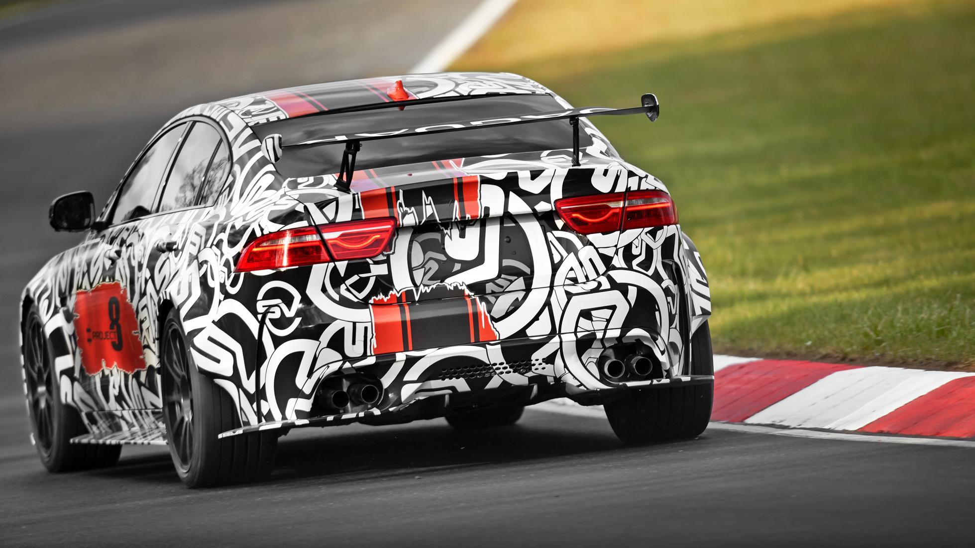 jaguar xe sv project8 2