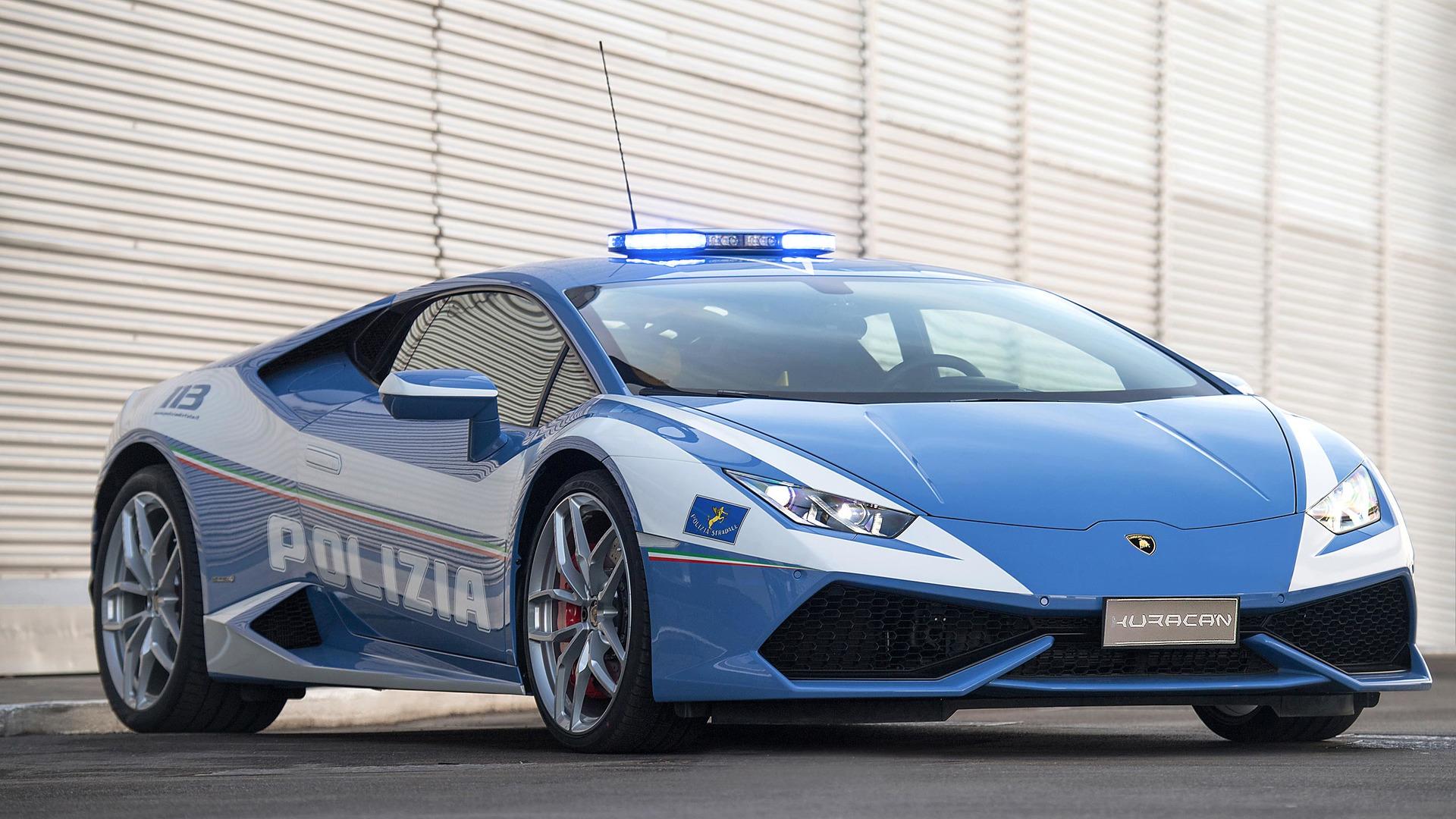 Lamborghini Huracán de Polícia