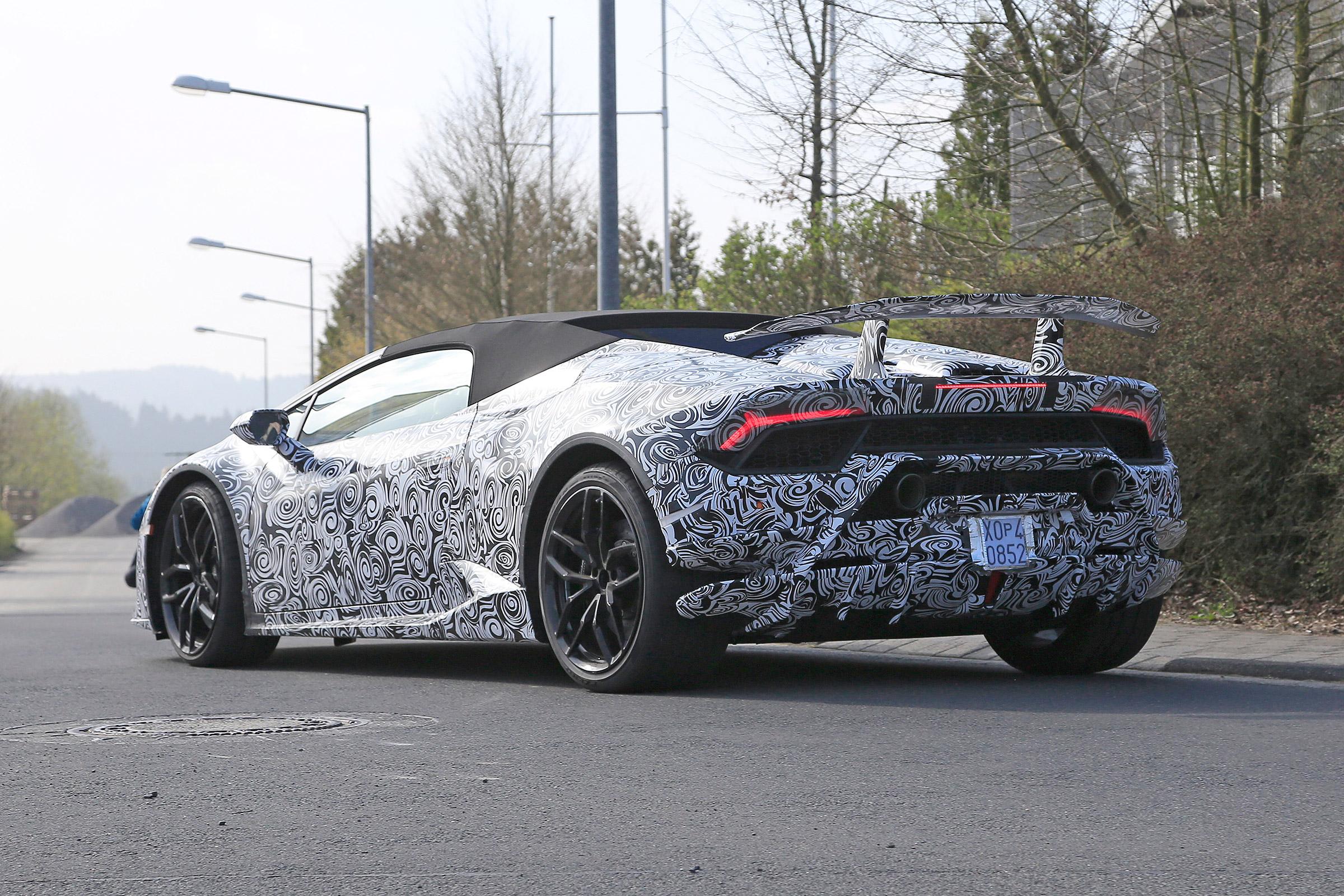 Lamborghini Huracán Performante conversível
