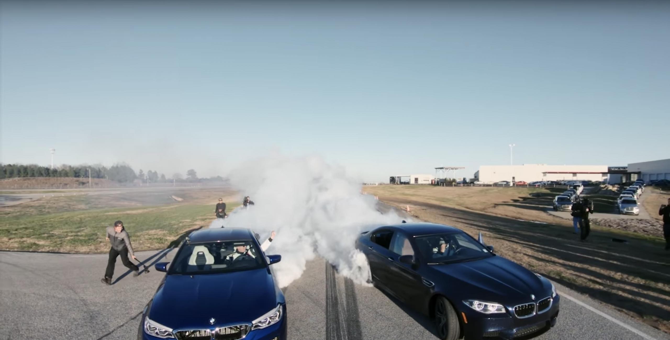 Recorde drift mais longo BMW M5 2018 Guinness Book