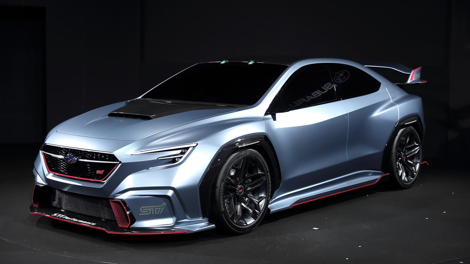 Subaru Viziv Performance STI 2018