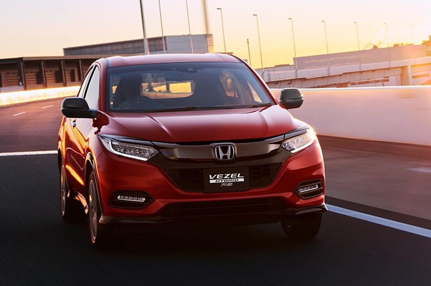 Honda H-RV Vezel facelift 2018 Japão