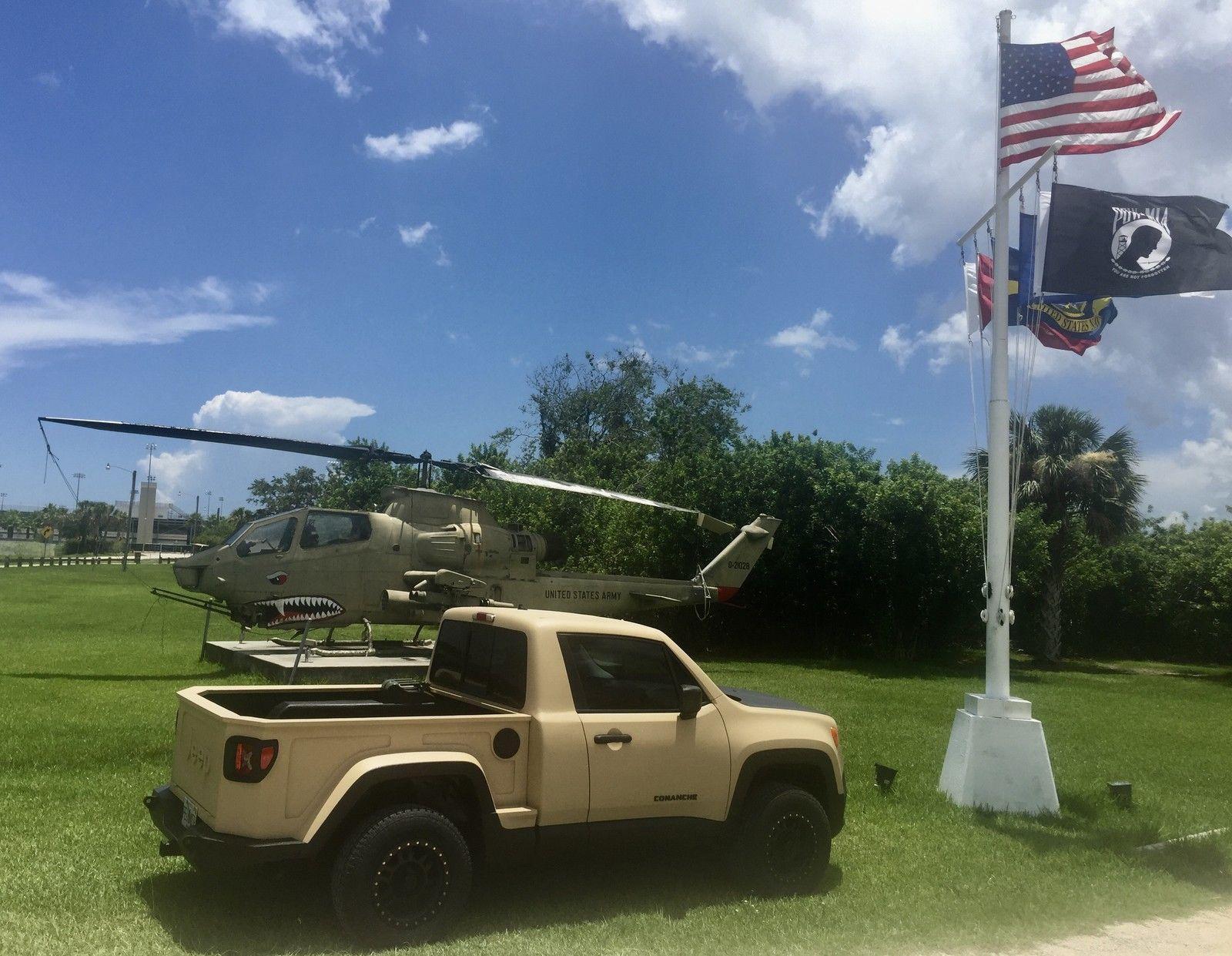 Jeep renegade Comanche picape