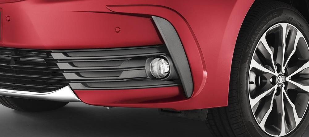 toyota corolla 2018 acessorios sensor estacionamento frente