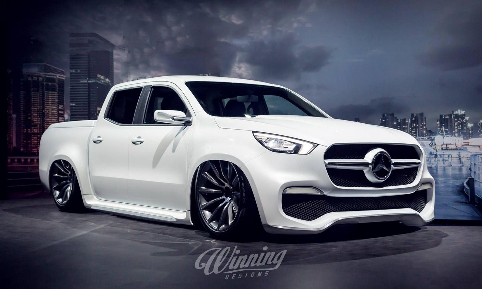 Mercedes-Benz Classe X Winning Design