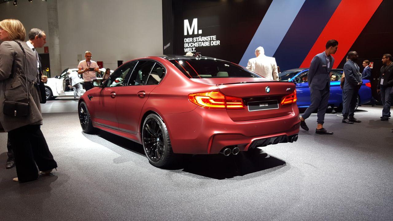 BMW M5 Salao Frankfurt 2017