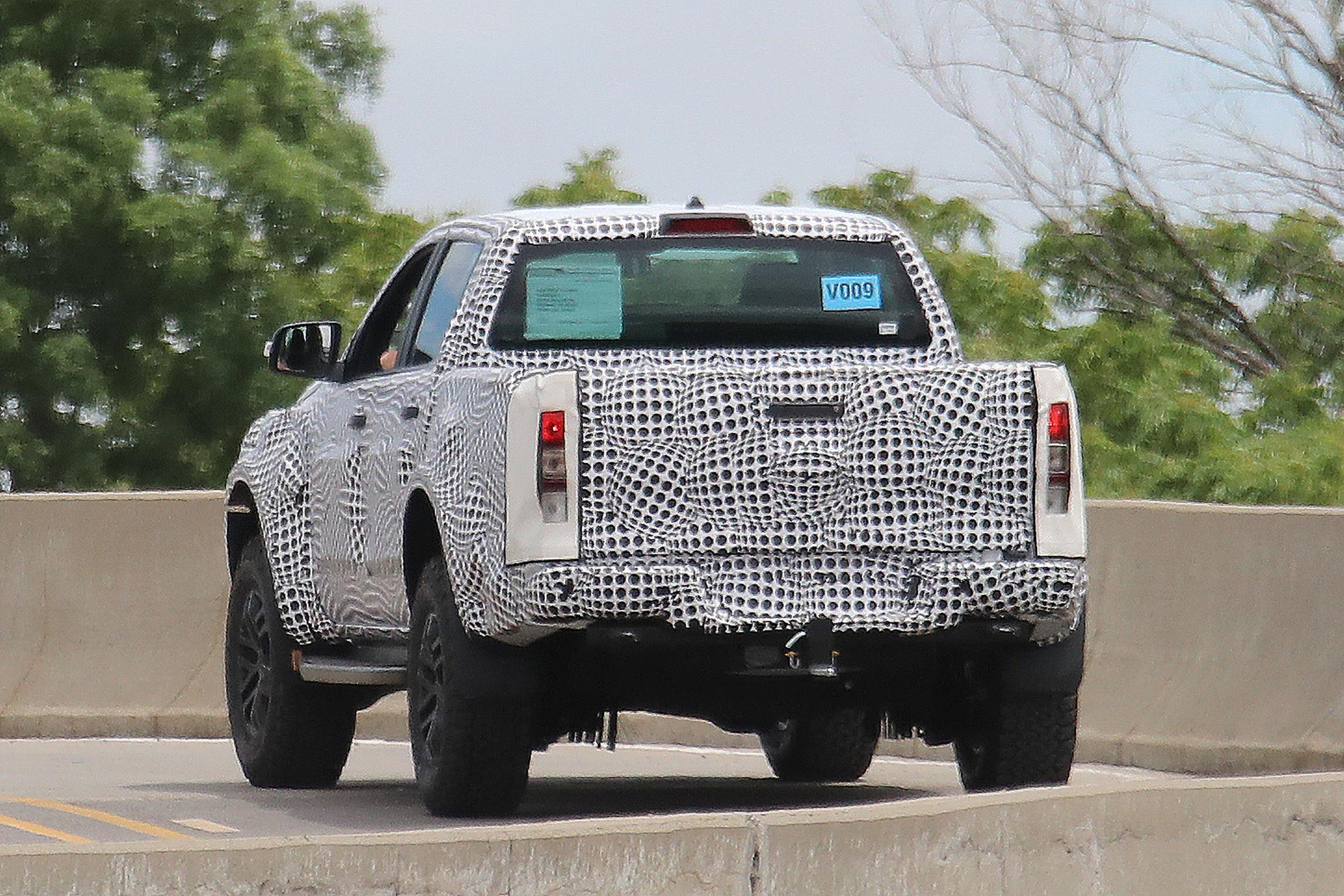 Ford Ranger Raptor segredo