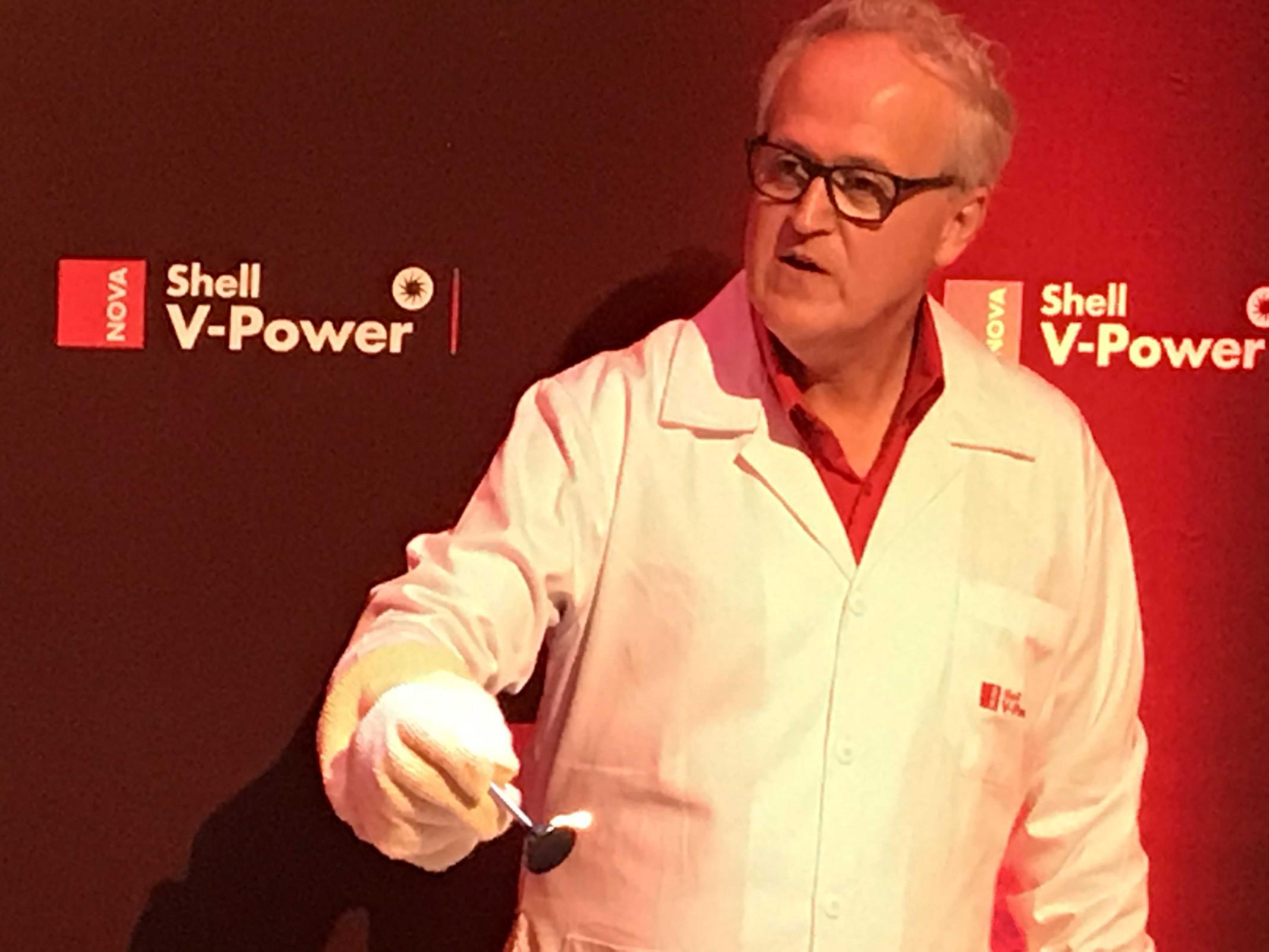 nova gasolina aditivada shell v-power raizen Gilberto Pose