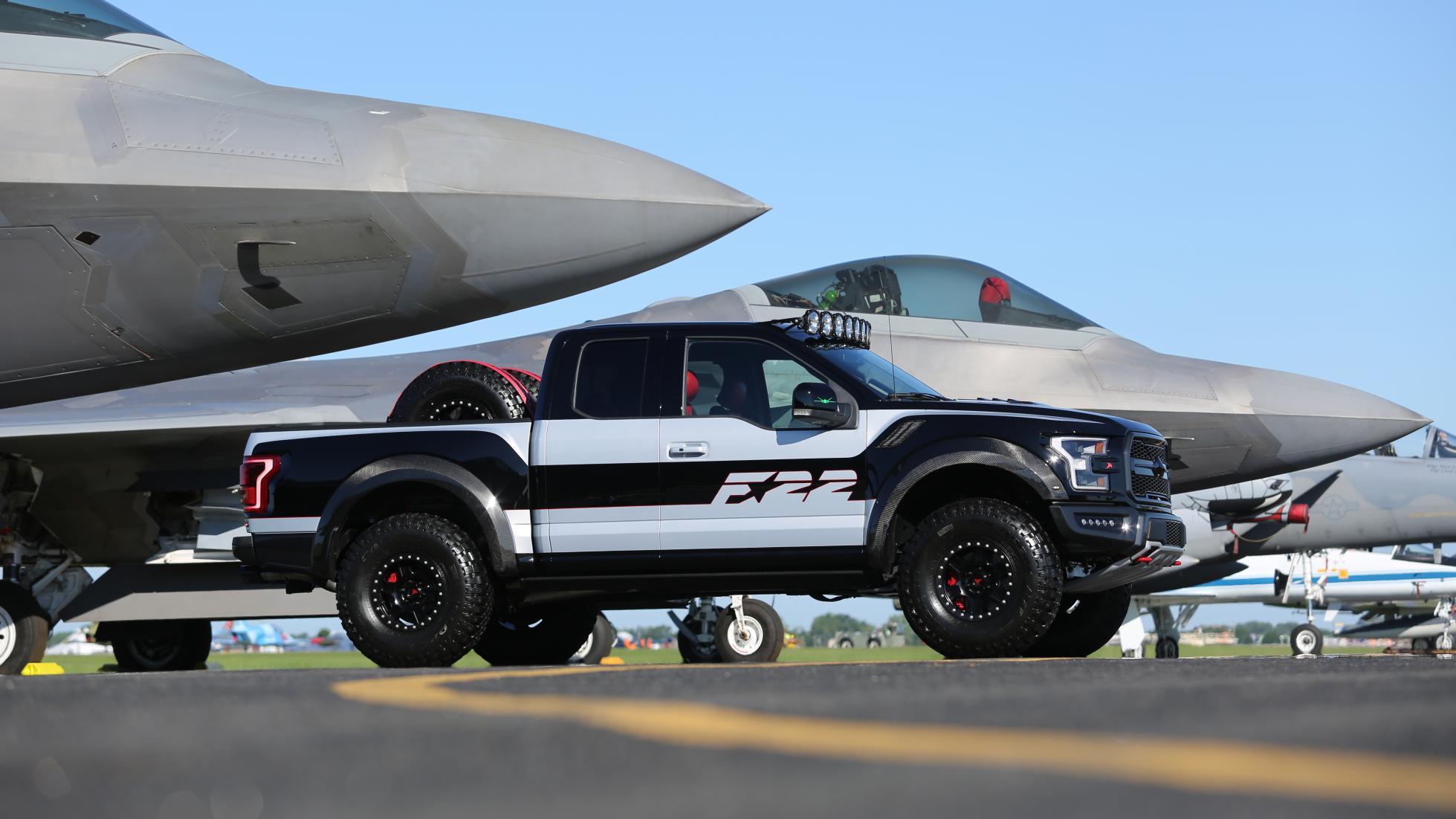 Ford F-150 Raptor F22 Raptor 3