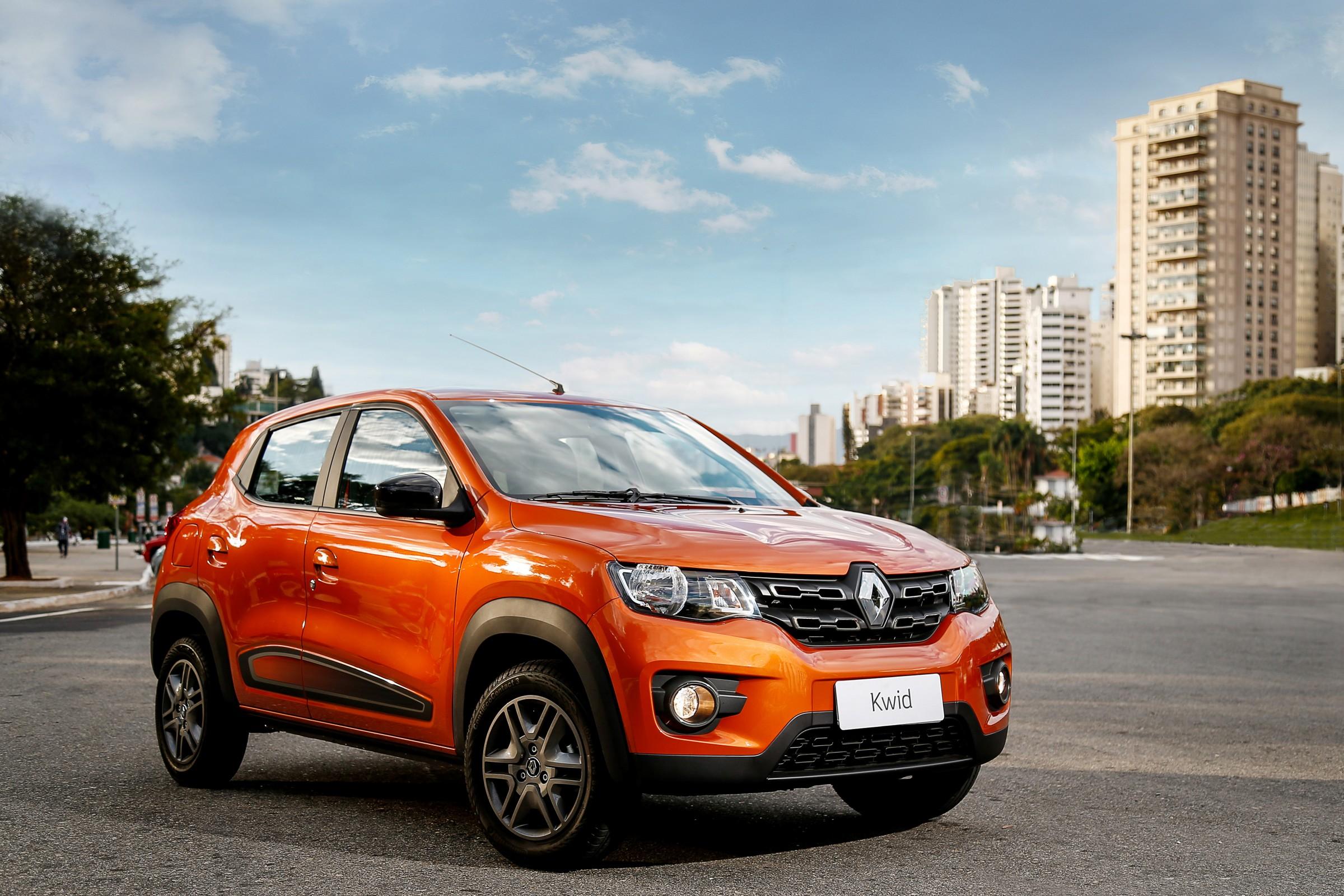 Renault Kwid Intense foi a versão que sofreu o menor reajuste nos preços