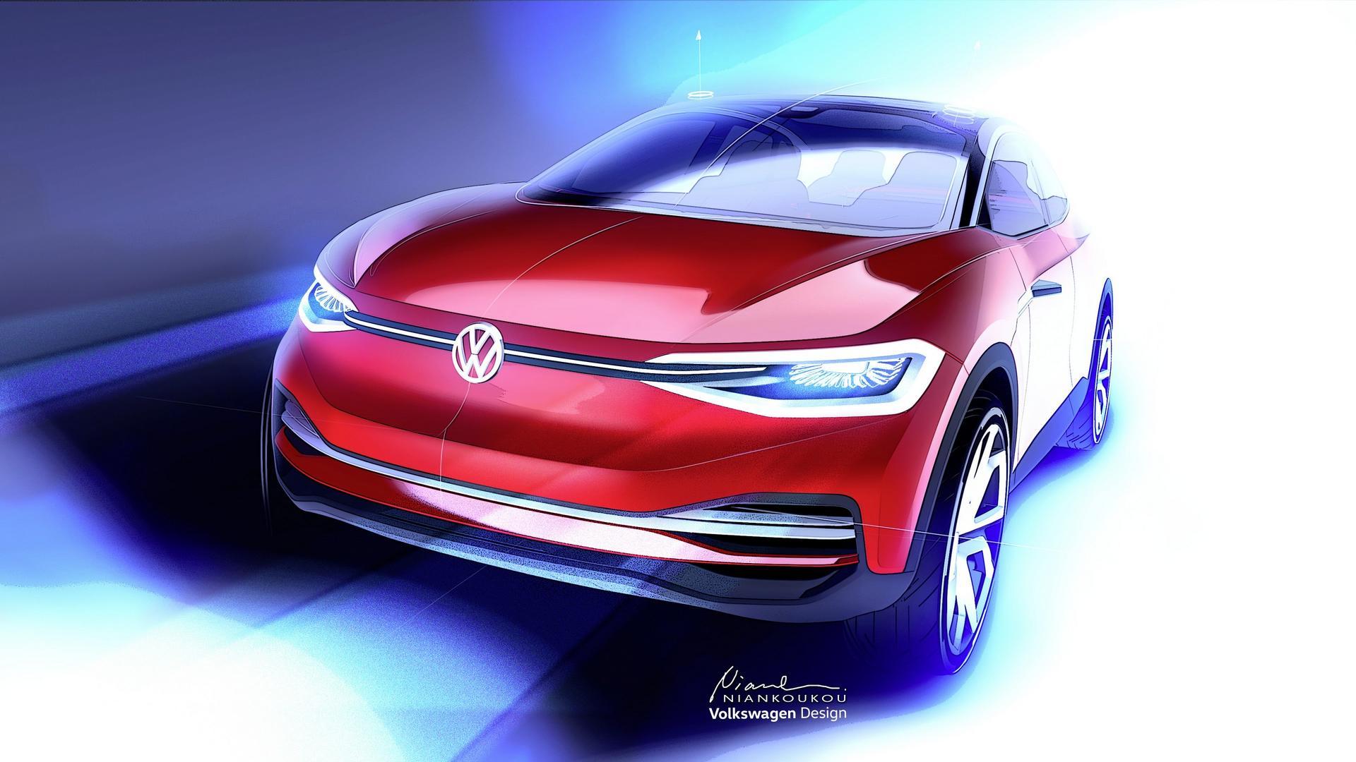 Volkswagen I.D. Cross Concept teaser Salao Frankfurt 2017