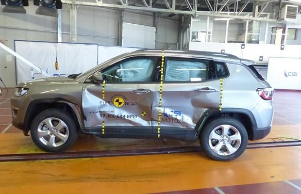 Jeep Compass Limited crash-test Euro NCAP