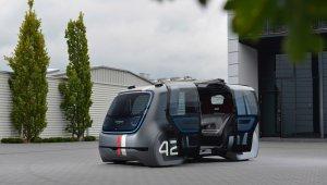 Volkswagen conceito autonomo compartilhado Frankfurt