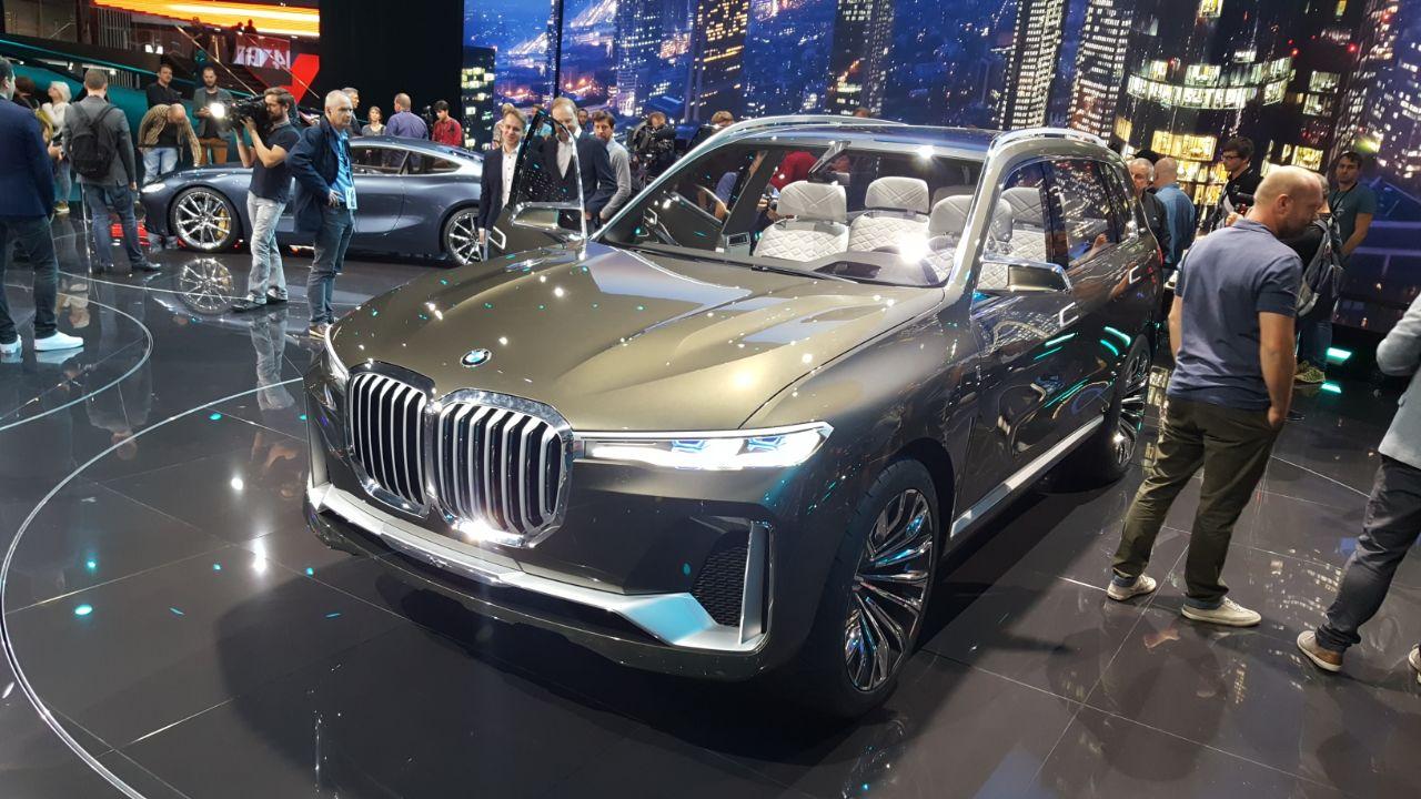 BMW X7 Concept iPerformance Salao Frankfurt 2017