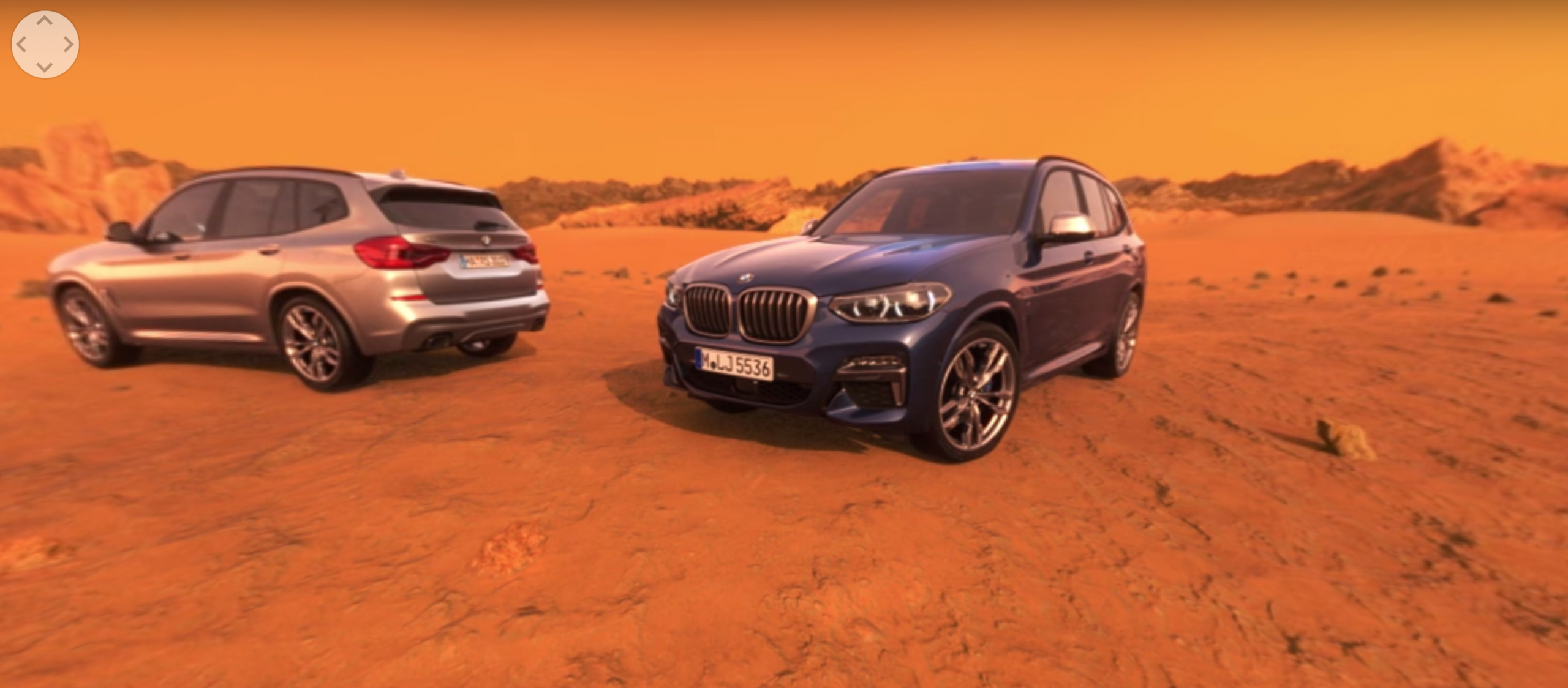 Test-drive virtual BMW X3 M40i 2018 marte