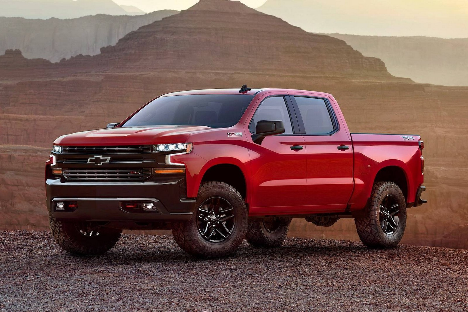 Chevrolet Silverado 2018 Trailboss