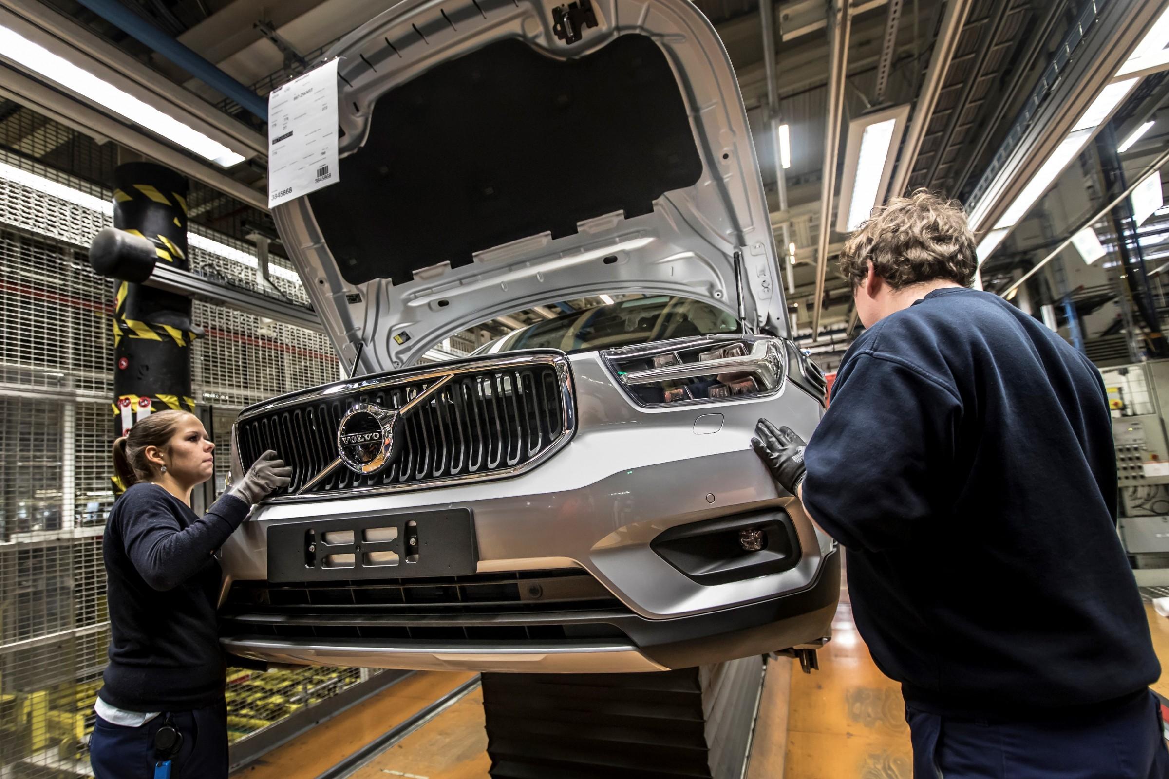 Volvo XC40 começa a ser produzido em Ghent, na Bélgica