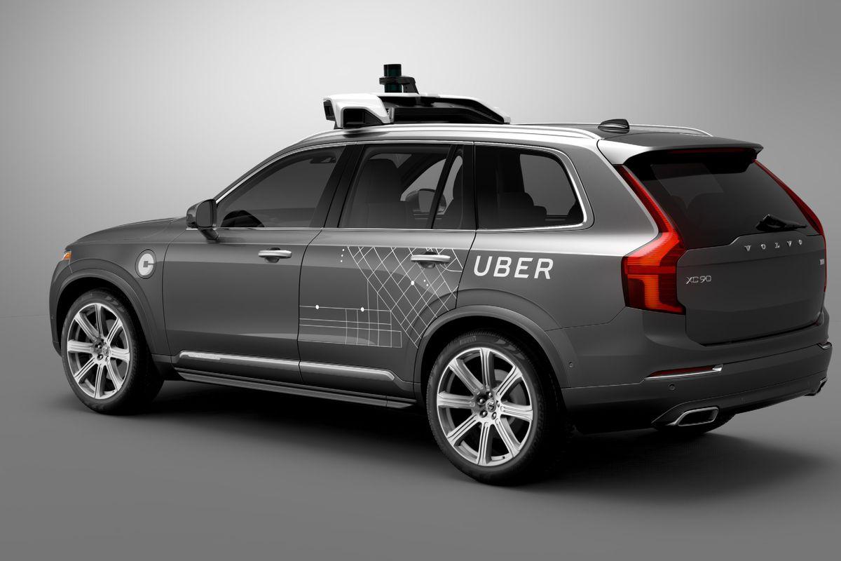 Volvo Uber Nvidia