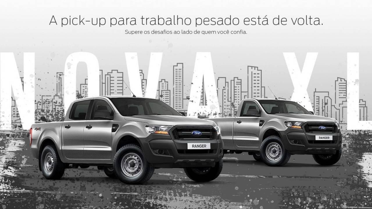 Nova Ford Ranger XL voltará a ser oferecida no Brasil