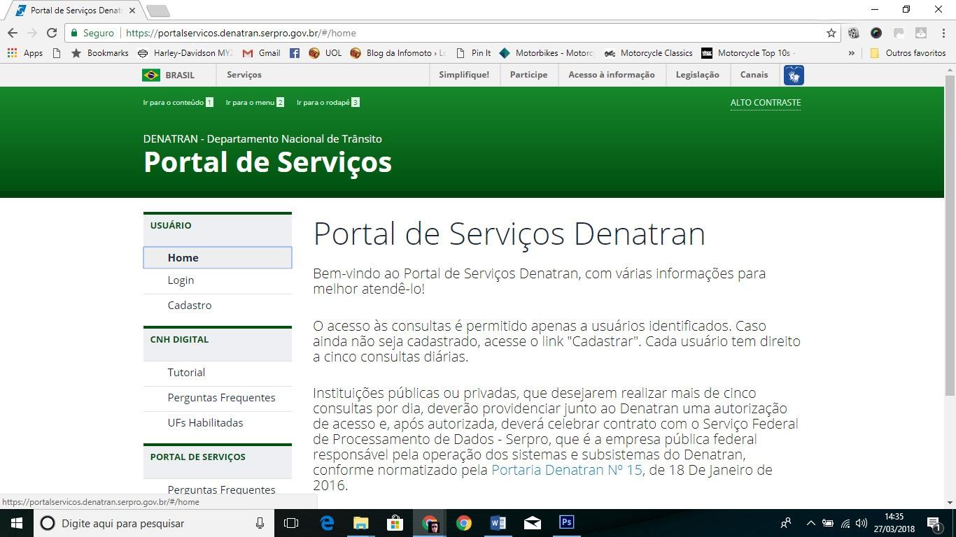 Portal Denatran