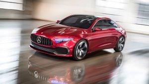 Mercedes Benz A Sedan Concept 2017